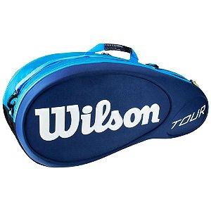 Raqueteira Wilson Tour X6 Azul