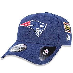 Boné New England Patriots 3930 5x Champion Azul - New Era