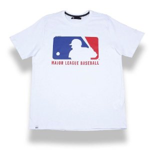 Camiseta MLB Basic Logo Branca - New Era
