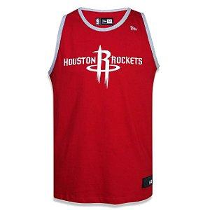 Regata Houston Rockets Basic Vermelha - New Era