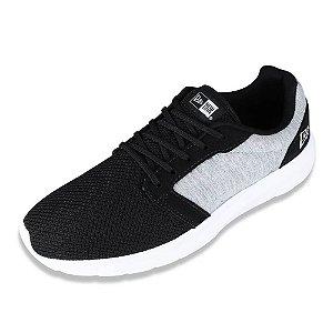 Tenis Sneaker 16 Preto/Cinza - New Era