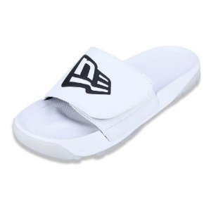 Chinelo Oreo Liso Branco - New Era