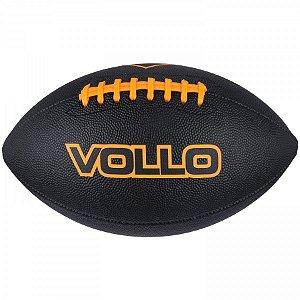Bola Futebol Americano Vollo Preta - Vollo