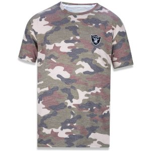 Camiseta Oakland Raiders Militar - New Era