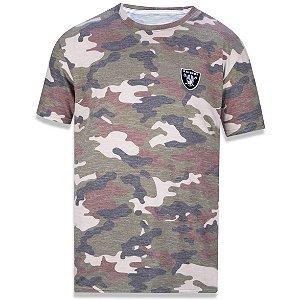 Camiseta Oakland Raiders Militar - New Era