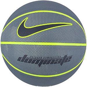 Bola de Basquete Nike Dominate Cinza Verde