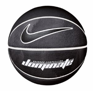 Bola de Basquete Nike Dominate Preto Cinza