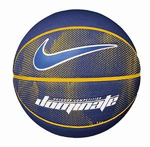 Bola de Basquete Nike Dominate Azul Amarelo