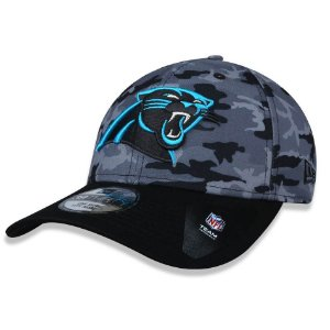 Boné Carolina Panthers 3930 Camo Team Strech - New Era