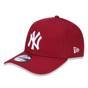 Boné New York Yankees 940 White on Cardinal - New Era