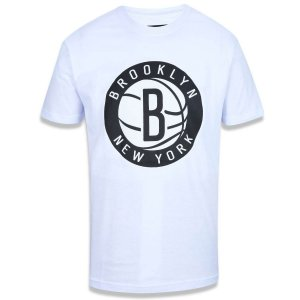 Camiseta Brooklyn Nets Basic Branco - New Era