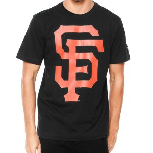 Camiseta San Francisco Giants Basic Preta - New Era