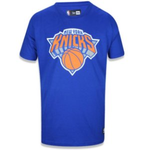 Camiseta New York Knicks Basic Azul - New Era