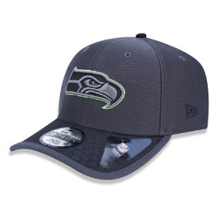 Boné Seattle Seahawks 3930 Sideline 2017 Graphite - New Era