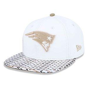 Boné New England Patriots 950 TG 60 Gold White - New Era