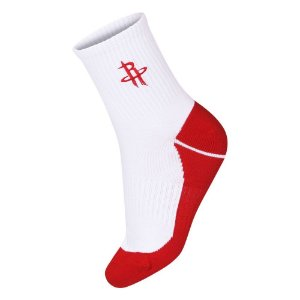 Meia NBA Houston Rockets Cano Médio Bordado