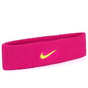 Testeira Nike Swoosh Rosa