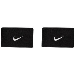 Munhequeira Nike Swoosh Double Preta