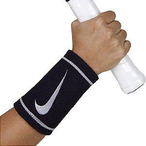 Munhequeira Nike Dri-Fit Doublewide Preta