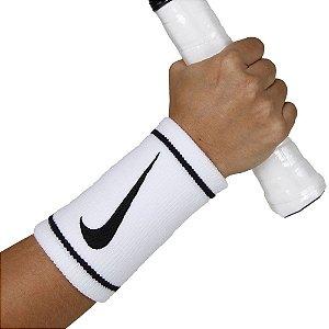 Munhequeira Nike Dri-Fit Doublewide Branca