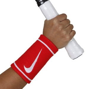 Munhequeira Nike Dri-Fit Doublewide Vermelha