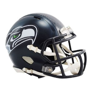 Capacete Riddell Seattle Seahawks Miniatura Revolution Speed