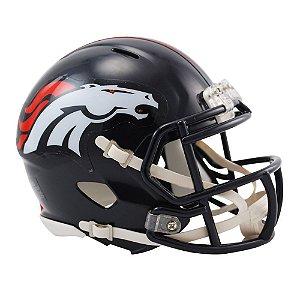 Capacete Riddell Denver Broncos Miniatura Revolution Speed