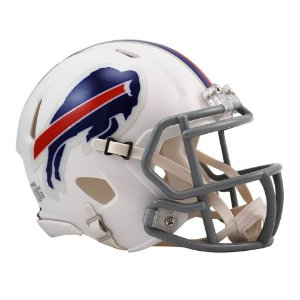 Capacete Riddell Buffalo Bills Miniatura Revolution Speed