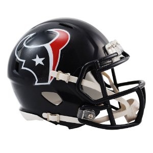 Capacete Riddell Houston Texans Miniatura Revolution Speed