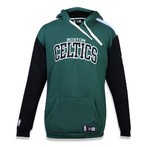 Casaco Moletom NBA Boston Celtics Bicolor - New Era