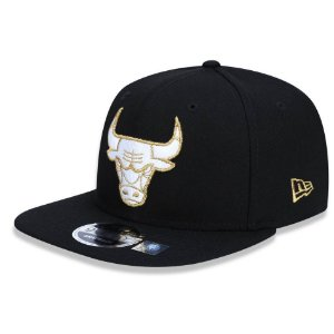 Boné Chicago Bulls 950 Gold City NBA - New Era