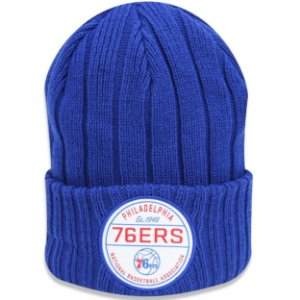 Gorro Touca Philadelphia 76ers Retro Ribbed - New Era