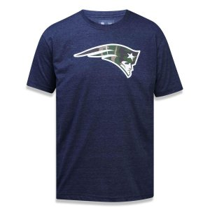 Camiseta New England Patriots Militar Logo - New Era