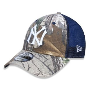 Boné New York Yankees 940 Real Tree Trucker - New Era