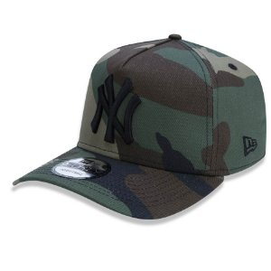 Boné New York Yankees 940 A-Frame Camuflado - New Era