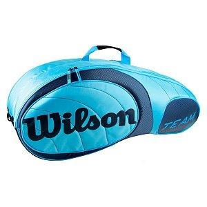 Raqueteira Wilson Team X6 Azul
