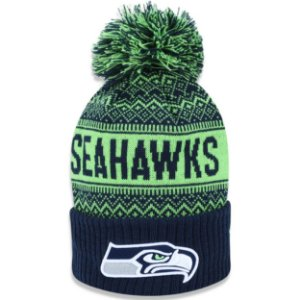Gorro Touca Seattle Seahawks Wintry Pom - New Era