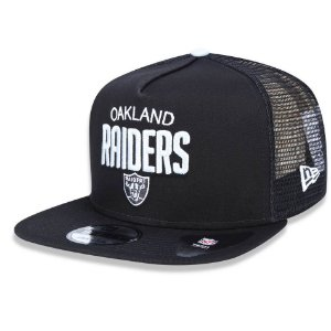 Boné Oakland Raiders 950 A-Frame Trucker Sports - New Era