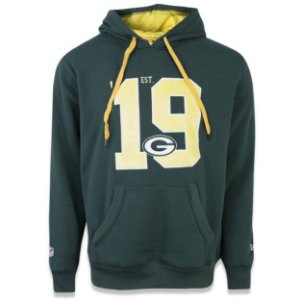 Casaco Moletom Green Bay Packers Sports Vein - New Era
