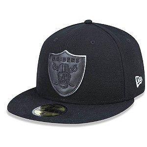 Boné Oakland Raiders 5950 Core 3D Fechado - New Era
