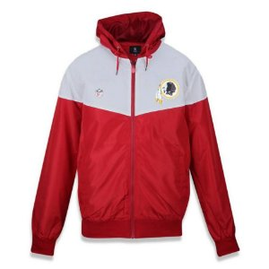 Jaqueta Quebra vento Windbreaker Washington Redskins Vein - New Era