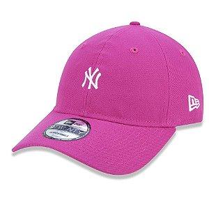 Boné New York Yankees 920 Mini Logo Colors Rosa - New Era