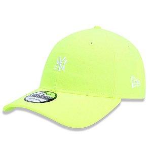 Boné New York Yankees 920 Mini Logo Colors Amarelo - New Era