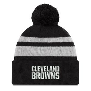Gorro Touca Cleveland Browns Black Cuffed - New Era
