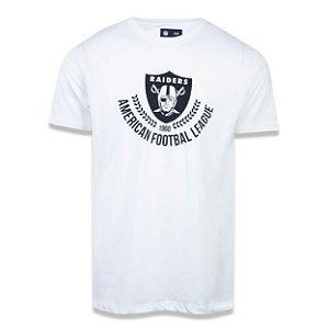 Camiseta Oakland Raiders Essential Louros - New Era