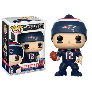 Funko Pop Tom Brady 12 New England Patriots