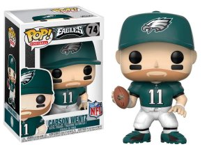Funko Pop Carson Wentz 11 Philadelphia Eagles