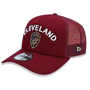 Boné Cleveland Cavaliers 940 A-Frame Class Trucker - New Era