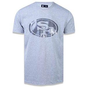Camiseta San Francisco 49ers Versatile Sport Logo Sobreton - New Era