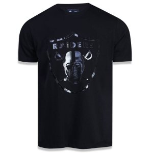 Camiseta Oakland Raiders Versatile Sport Logo Sobreton - New Era